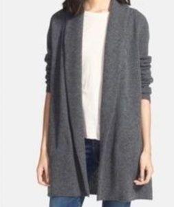 Splendid Merino Wool Open Front Cardigan